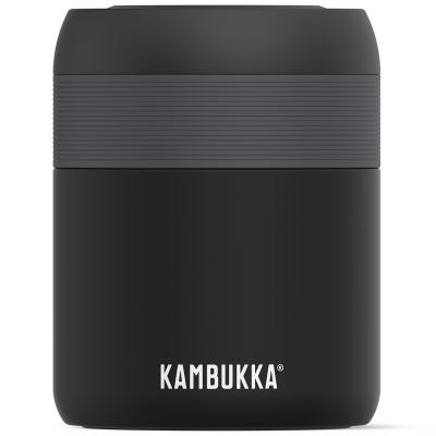 Termo sólidos acero Kambukka 600 ml mat black