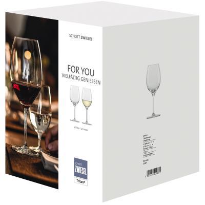 4 copa vino blanco Chardonnay Zwiesel For You