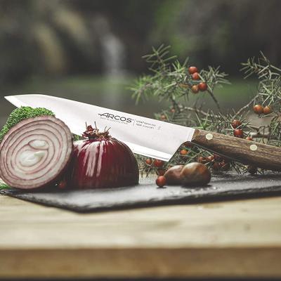 Cuchillo cocinero Arcos Nordika madera 21 cm