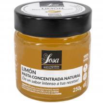 Pasta concentrada Limón Sosa 250gr