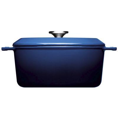 Cocotte hierro fundido Iron Woll azul cobalto