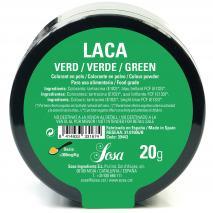 Colorante laca liposoluble polvo 20 g verde