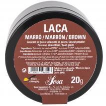 Colorant laca liposoluble pols 20 g marró