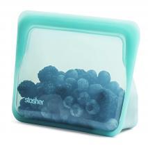 Bossa silicona reutilitzable Stasher S de peu aqua