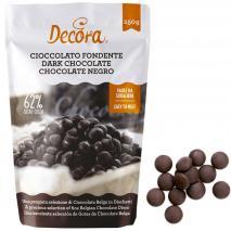 Cobertura en gotas chocolate negro 250 g