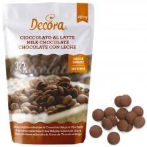 Cobertura en gotas chocolate con leche 250 g