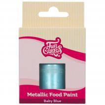 Pintura alimentària metàl.lica 30 ml Baby blau