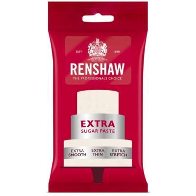 Fondant Extra Renshaw 250 g blanco