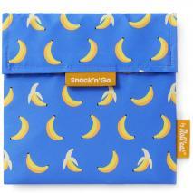 Bolsa Porta snacks Snack'n Go Fruits Plátano