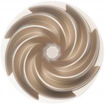 Molde de aluminio fundido bundt Alice 24 cm