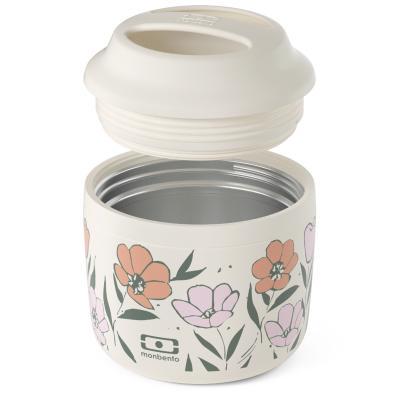 Termo sólidos Monbento acero 550 ml graphic bloom