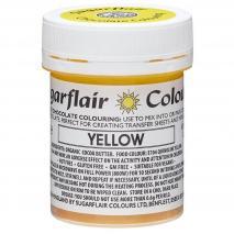 Colorante Chocolate base manteca cacao amarillo