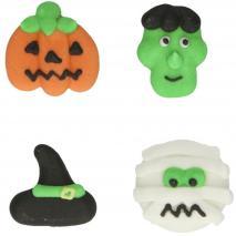 Set 12 decoracions de sucre Halloween