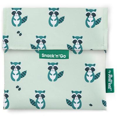 Bolsa Porta snacks Snack'n Go Animals Mapache