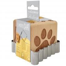 Tallador galetes i segells de fusta Gat